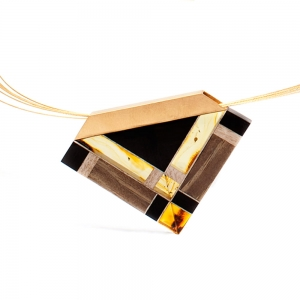 Necklace Amberwood GOLDTR1N