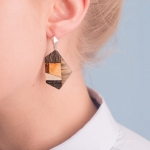 Earrings Amberwood SYM1218E