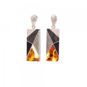 Earrings Amberwood GEOS7E