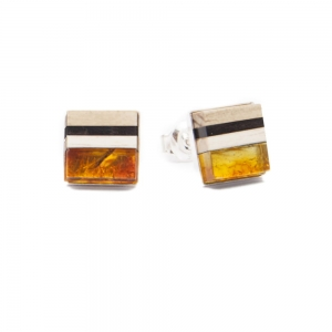 Earrings Amberwood SQUARE 5