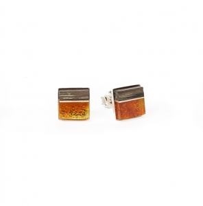 Earrings Amberwood SQUARE 1