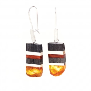 Earrings Amberwood SK1210
